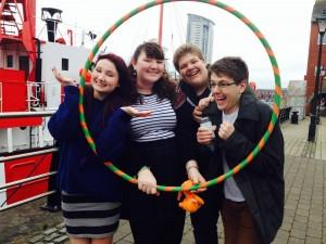 Peer Leaders having fun!