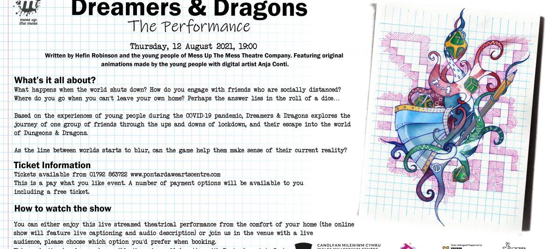 Dreamers and Dragons – Y Perfformiad