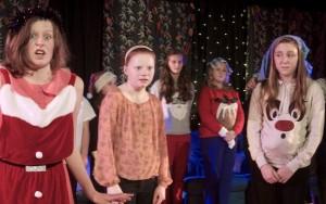 Scene from Christmas Cabaret 2013