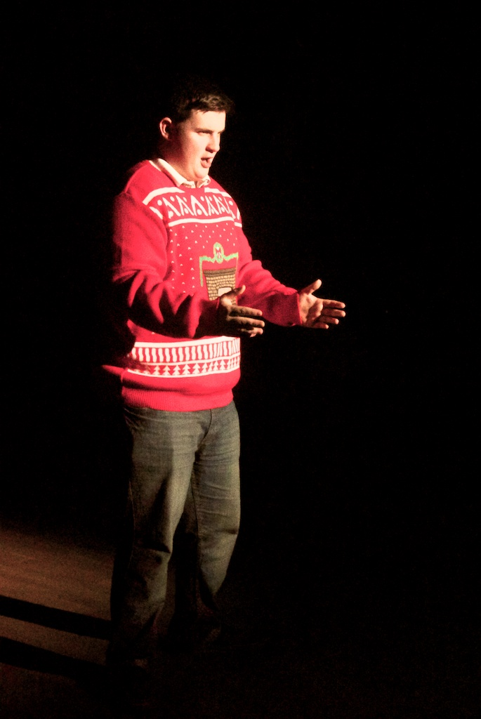 Stand up routine from Christmas Cabaret