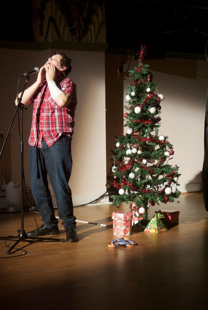Standup routine from Christmas Cabaret